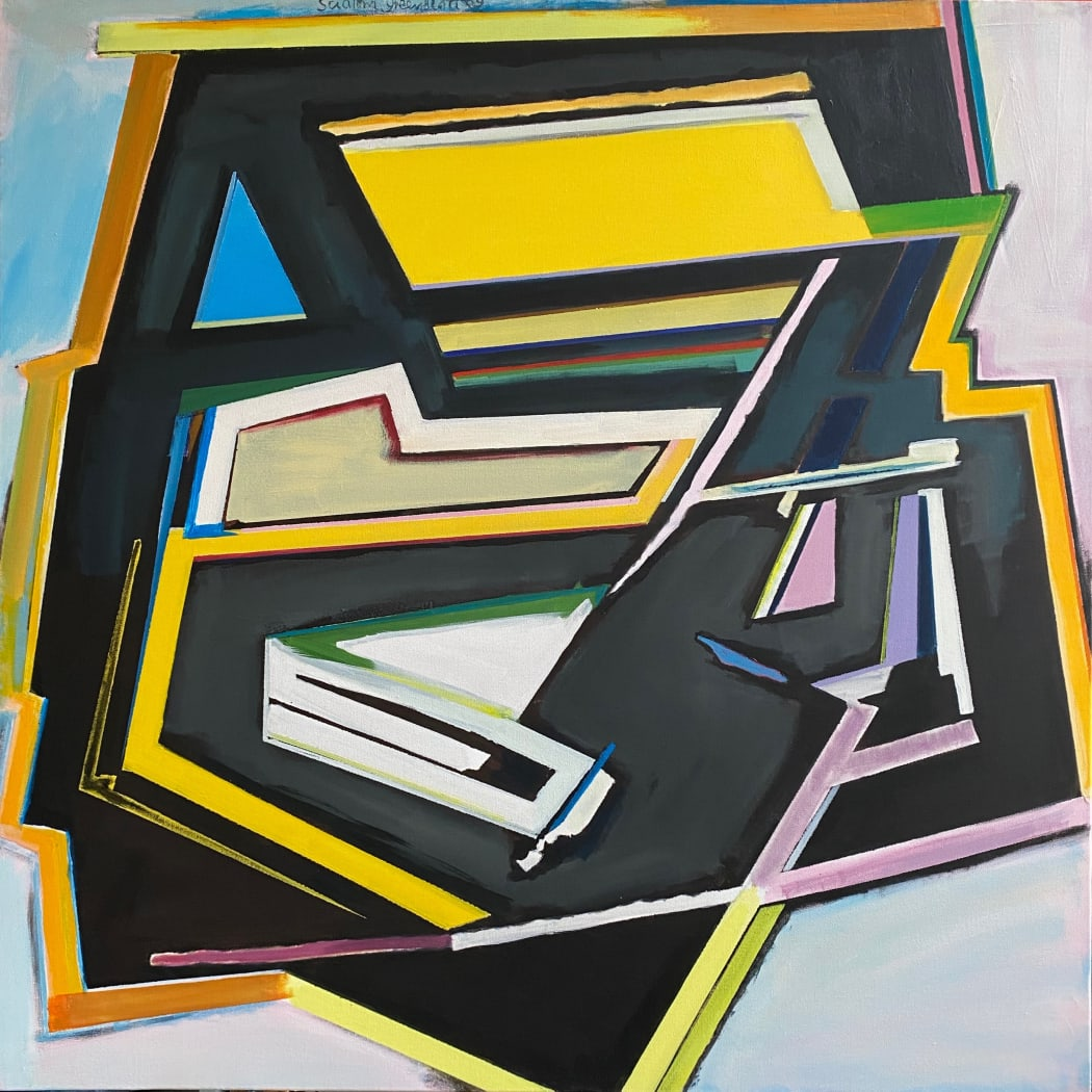 Vif. 2009. Acrylic on canvas. 100x100cm