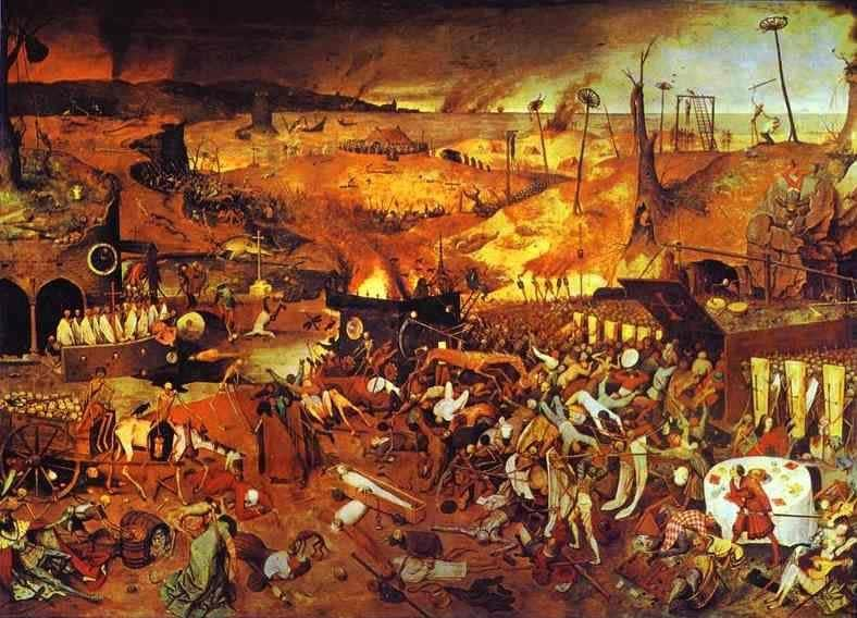 Paintings and Pandemics - Part I, The Black Death