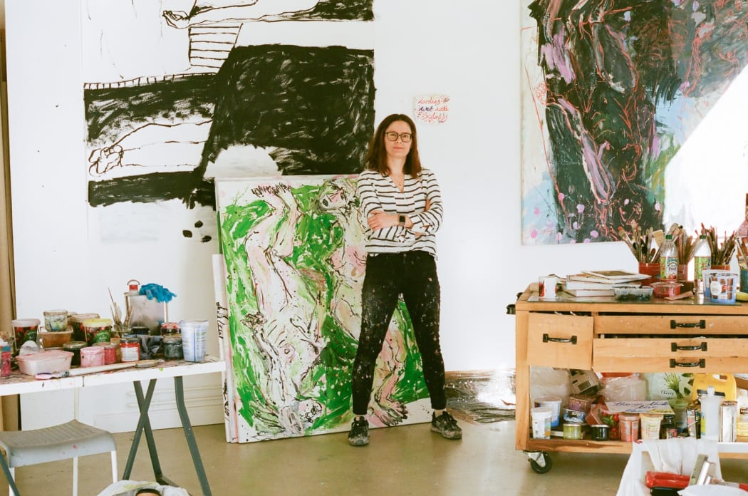 Kim Booker: Led by the Paint Itself