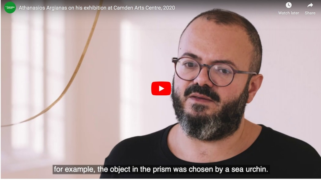 Athanasios Argianas on his exhibition at Camden Arts Centre, 2020