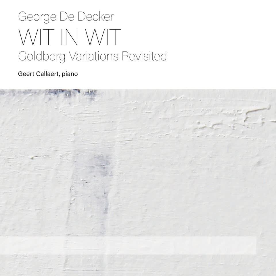 CD George De Decker Wit in Wit