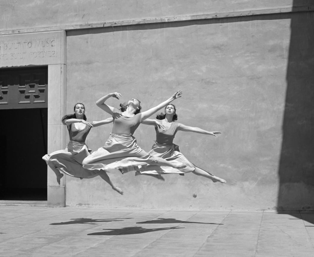 Three Dancers, Mills College, 1929