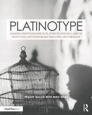 New Platinotype Book by Pradip Malde with Mike Ware