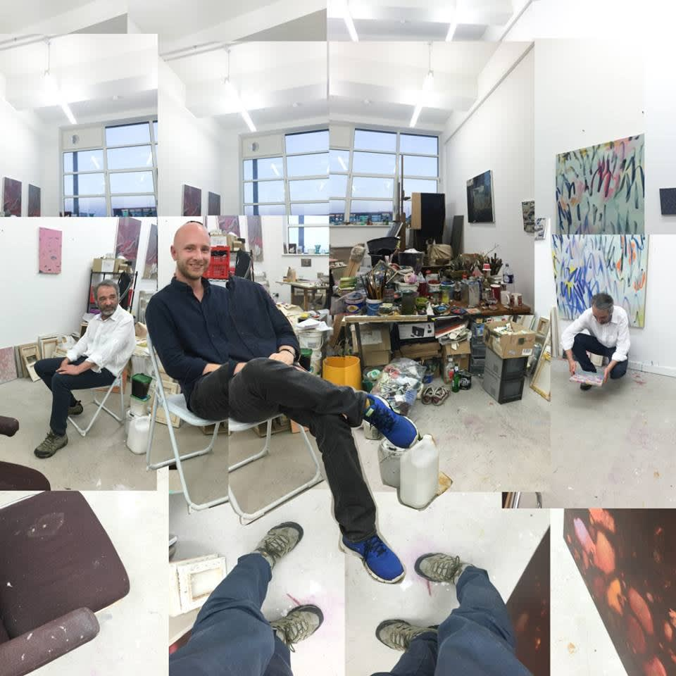 Studio visit with Nicholas Jones