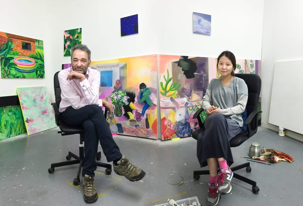 Studio visit with Jaeyeon Yoo