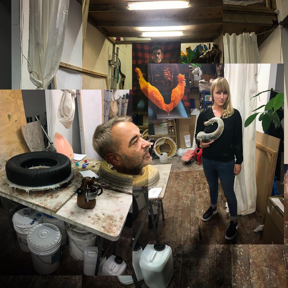 Studio visit with Katja Larsson