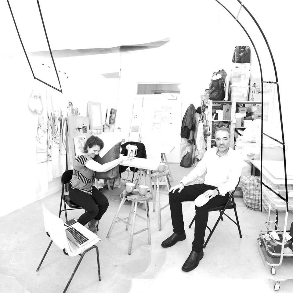 Studio visit with Rutie Borthwick