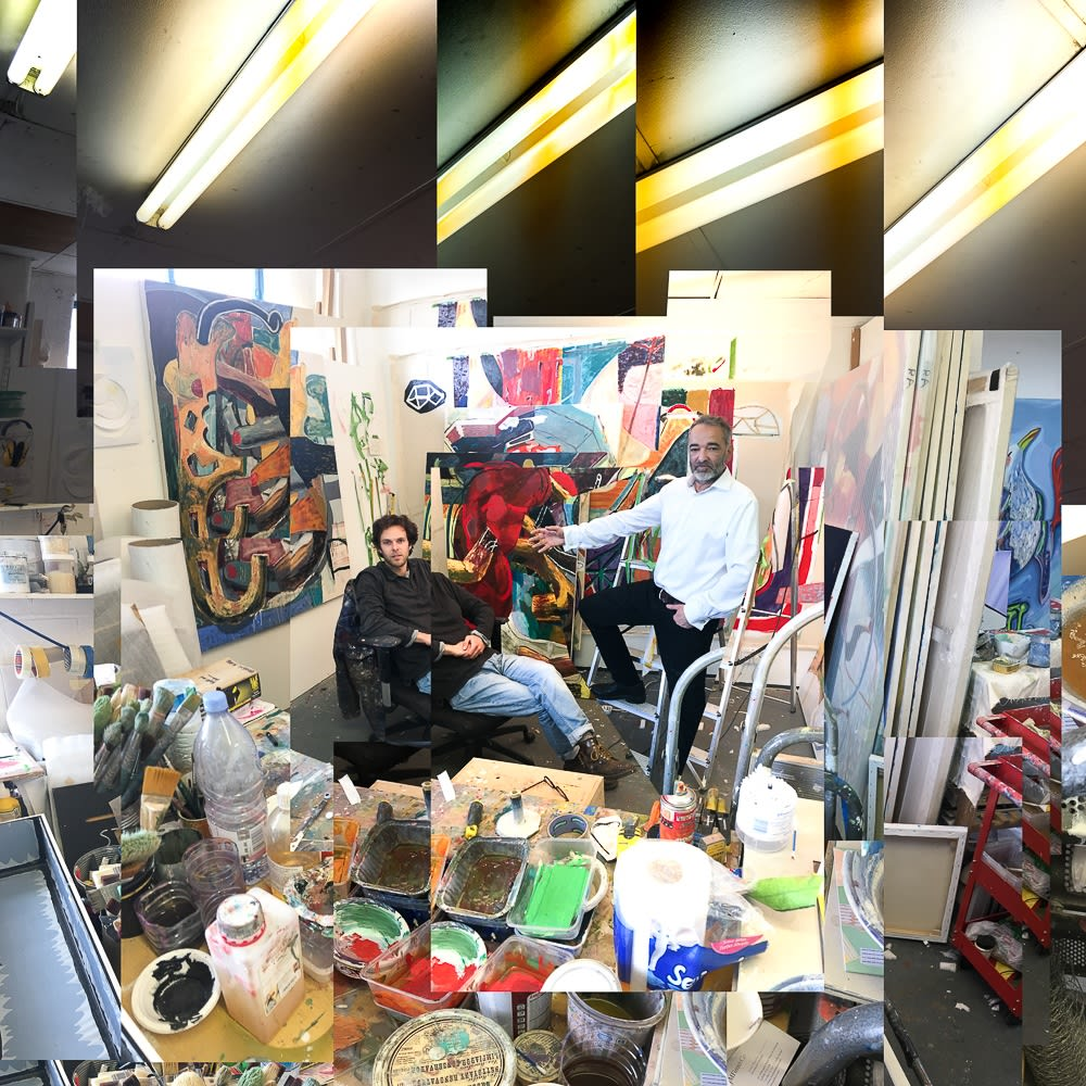 Studio visit with Laurence Owen