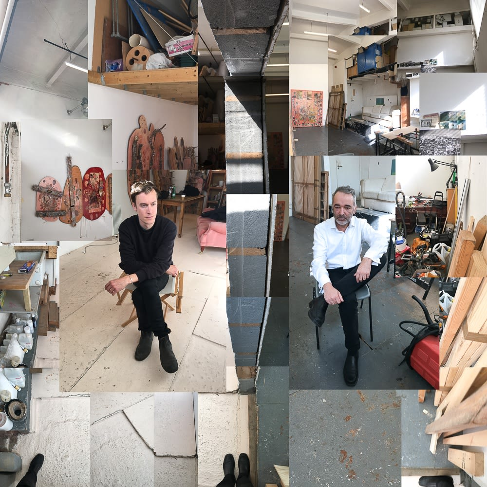 Studio visit with Nicholas Cheveldave