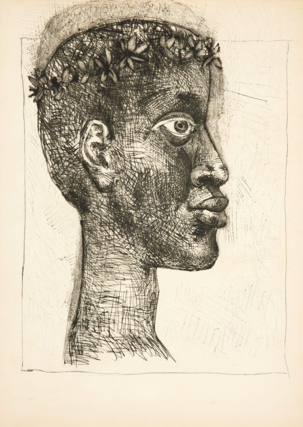 Portrait of Picasso's friend
