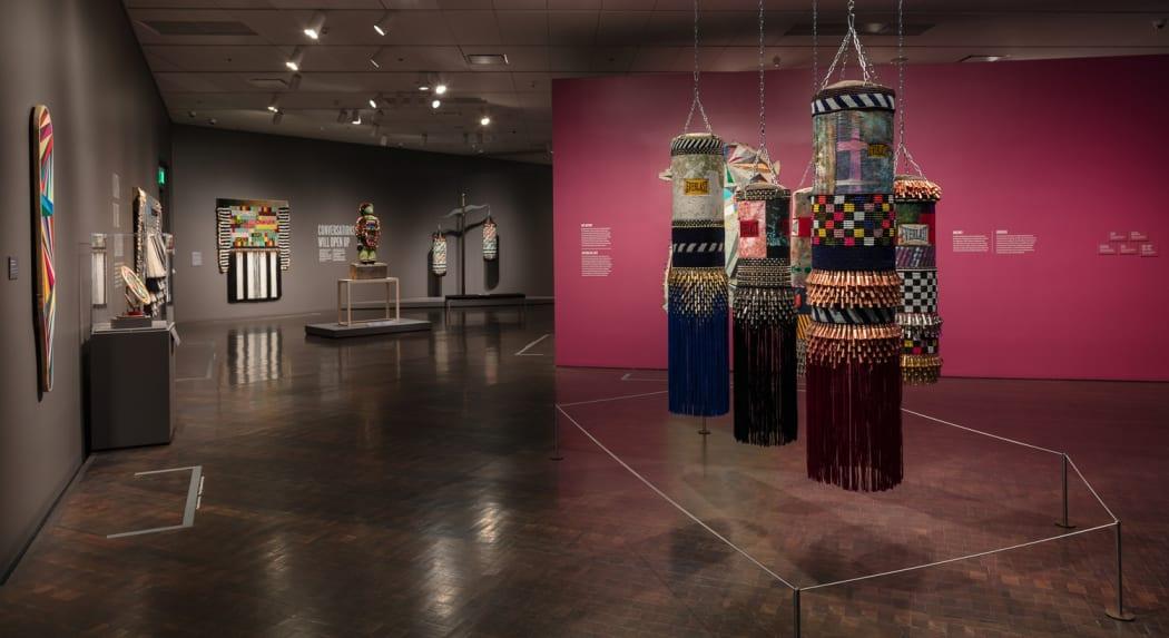 Jeffrey Gibson LIKE A HAMMER, At the Denver Art Museum, 2018