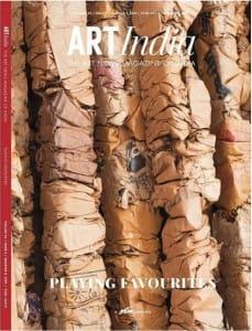 MANISH NAI FEATURED ON COVER OF ART INDIA MAGAZINE