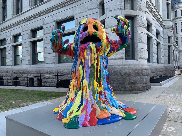 Tony Tasset, Blob Monster, 2009