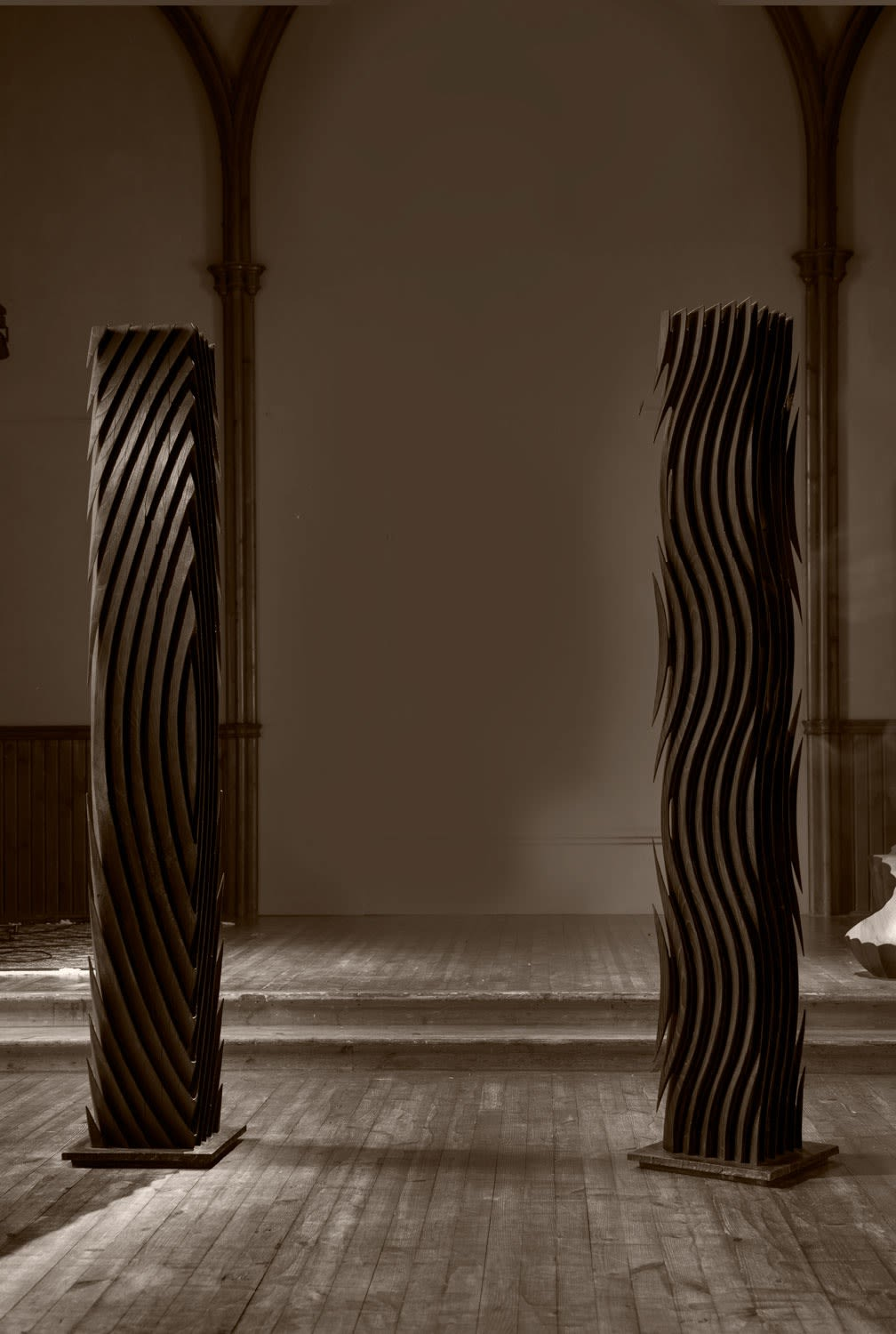 Switchback and Norse | scorched oak | 225cm x 41cm x 41cm