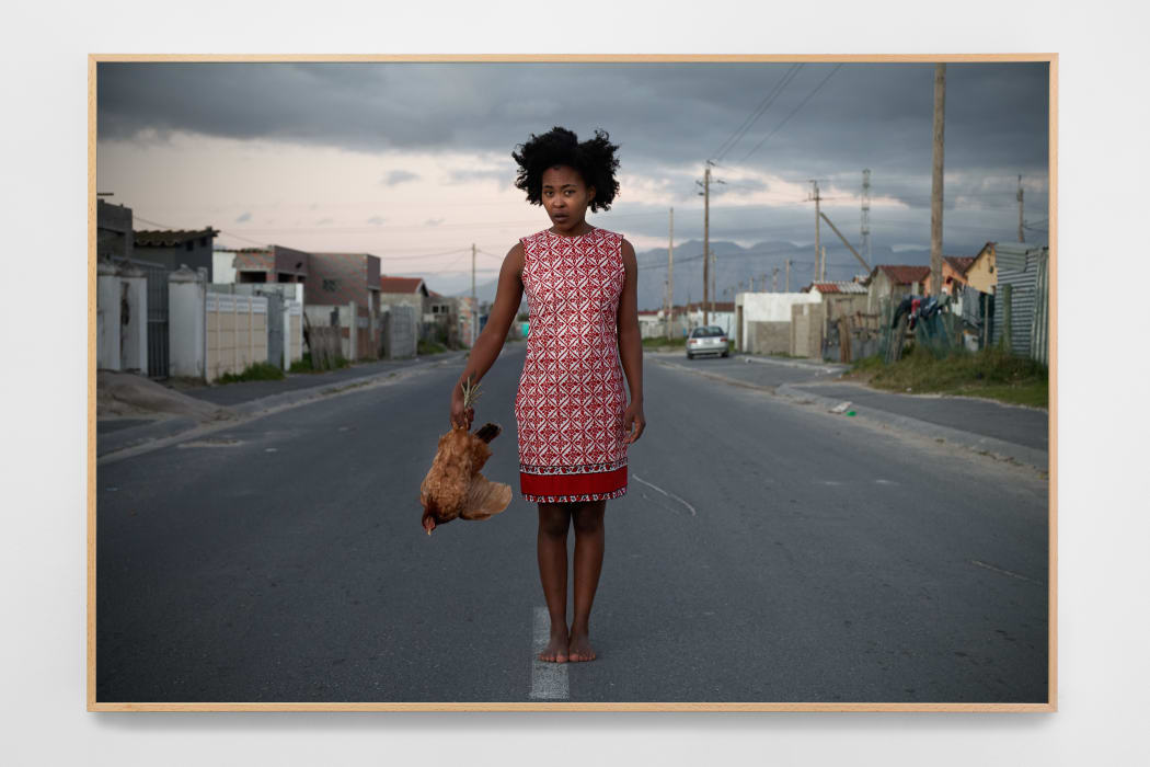 Buhlebezwe Siwani, Isana libuyele kunina, 2015, C-print on cotton paper, 112 × 74 cm, Image: Courtesy of the artist and Madragoa, Lisbon