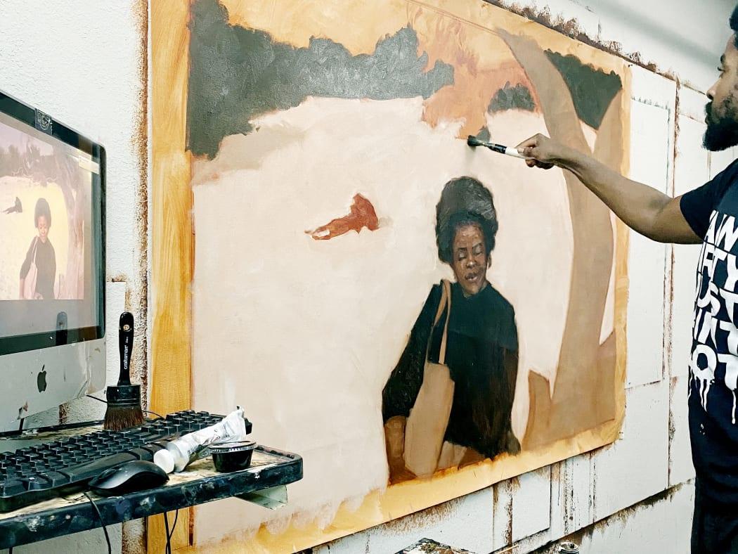 Riley Holloway, Westside Studio, Image: Artist's archive