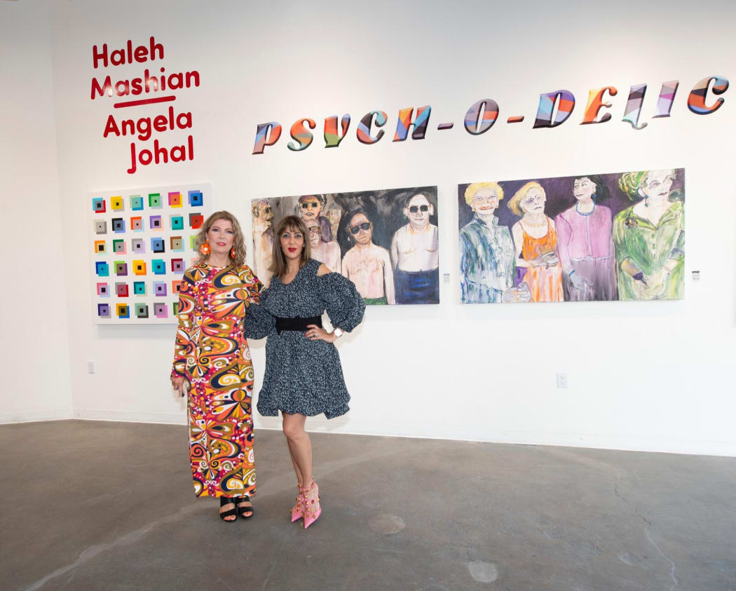 Artists, Angela Johal & Haleh Mashian Photographed by Michael Bezjian