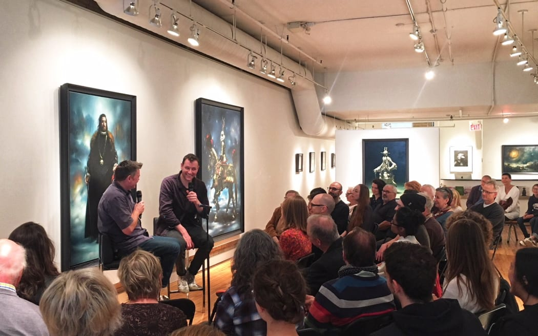 STEPHEN APPLEBY-BARR & MARK KINGWELL in conversation