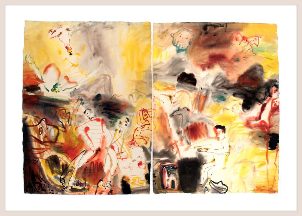 SPOTLIGHT | John Hartman: Simon Tookoome drawing, Kavavau Munamee dreaming