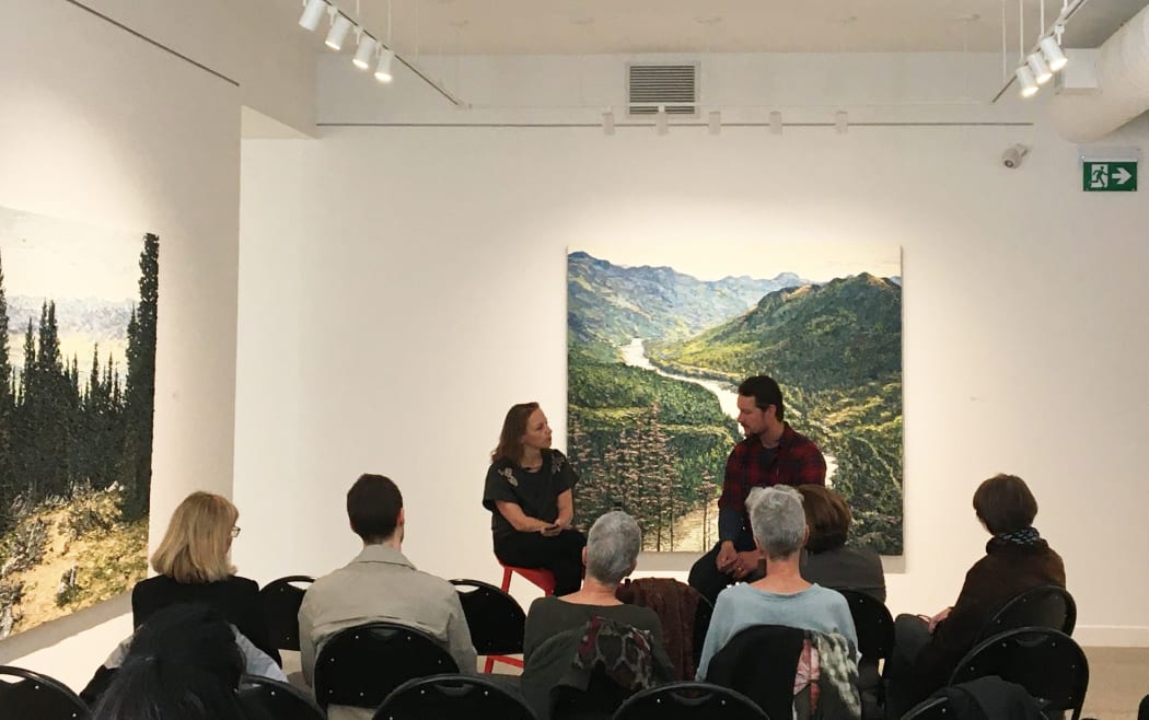 MATT BAHEN & JAYNE WILKINSON in conversation
