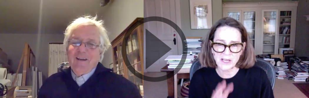 JOHN HARTMAN & SARAH MILROY in conversation