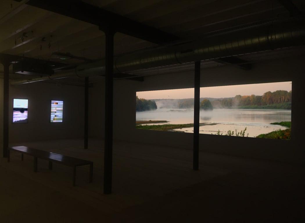 Installation view of Loire at Chouzy - Ouest at Domaine de Chaumont-sur-Loire
