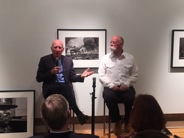 SEBASTIAO SALGADO & MIKE MILLER in conversation