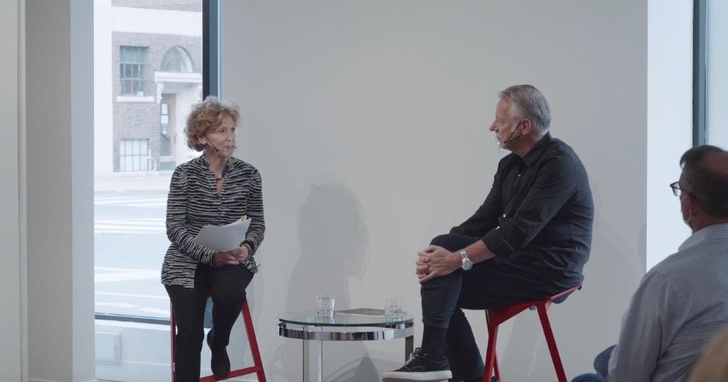 EDWARD BURTYNSKY & MARTA BRAUN in conversation