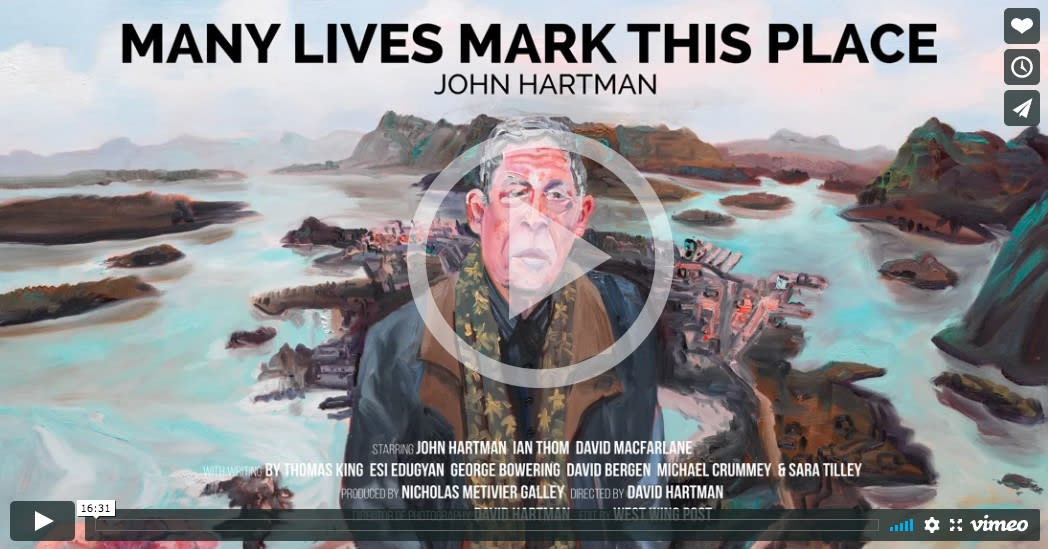 John Hartman: Many Lives Mark This Place