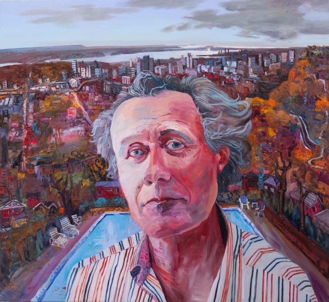 John Hartman, David Macfarlane above Hamilton, 2014