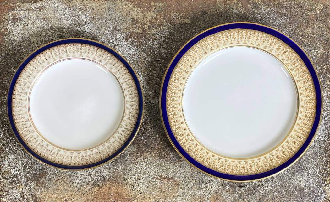 A TALE OF TWO PLATES
