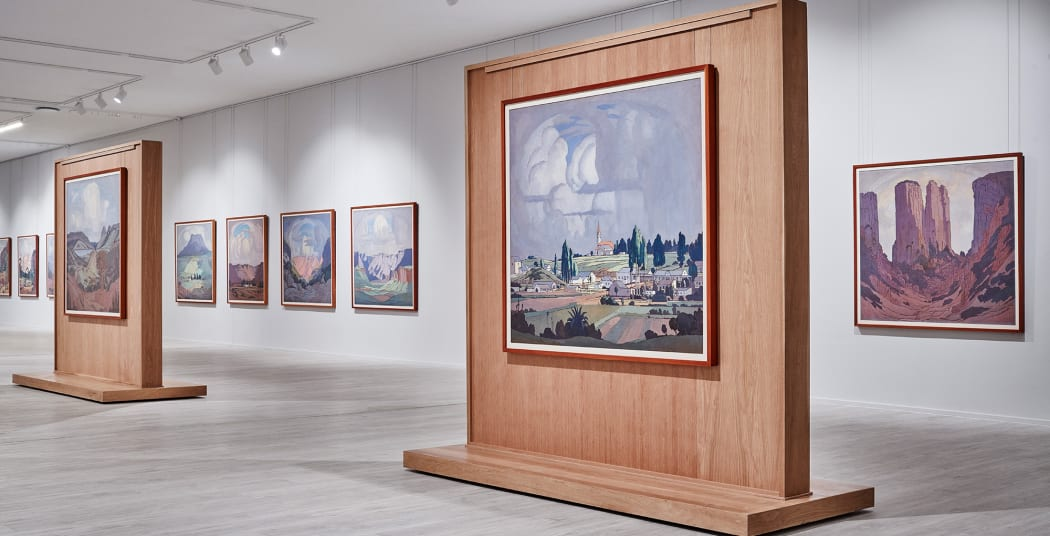 © The Johannesburg Station Panels at Rupert Art Foundation by JH Pierneef