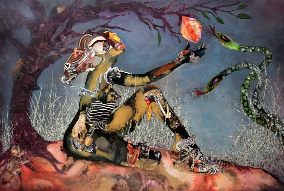 Wangechi Muti, Forbidden Fruit Picker (2015)