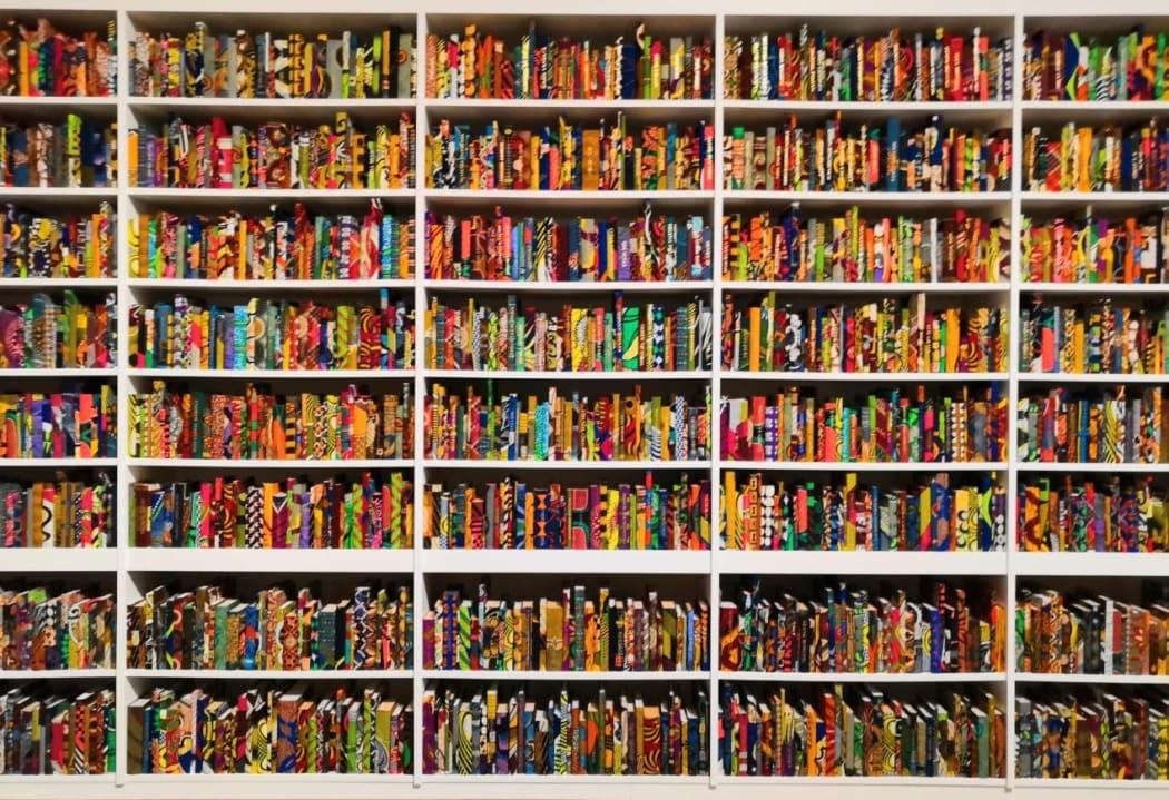 Yinka Shonibare CBE, The British Library 2014 (detail) | © Tate