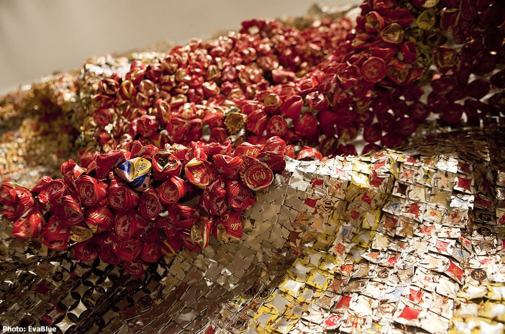 El Anatsui's Gravity and Grace Monumental Works