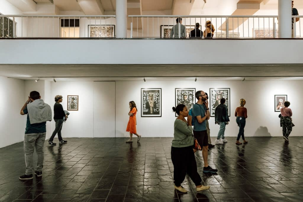 One of the galleries open on First Thursday, downtown Cape Town © travel.sapeople