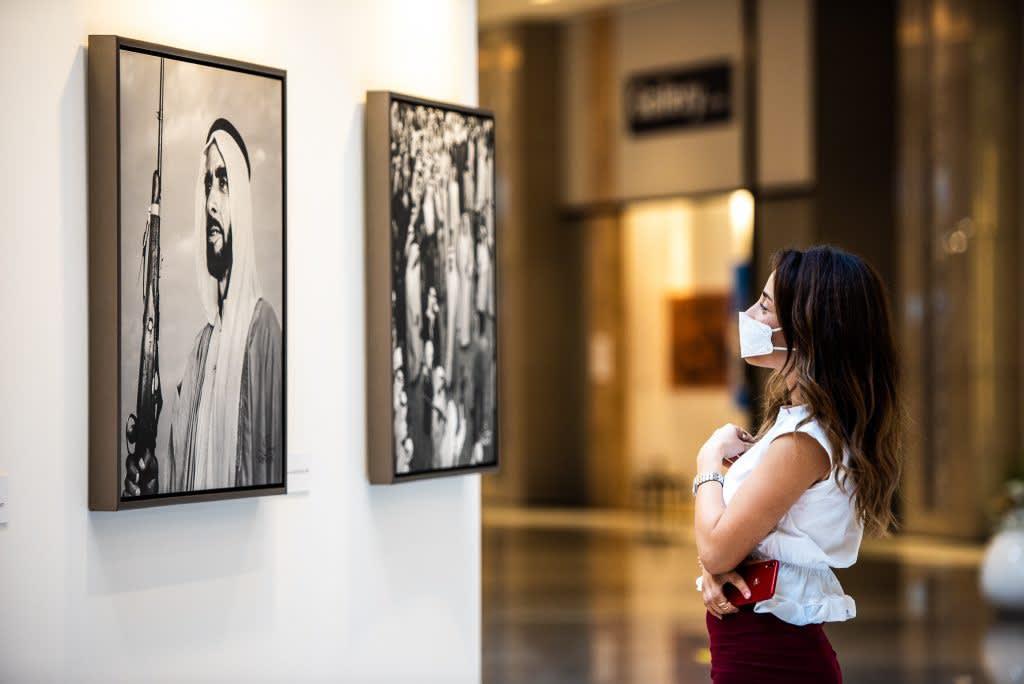 Ramesh Shukla's 50 Years United at Art Dubai 2021, Courtesy of Art Dubai.