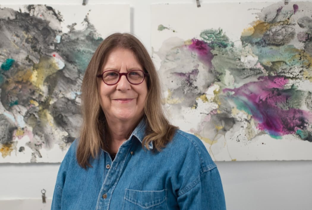 Michele Colburn in her Washington, DC, studio. Photo: Lee Stalsworth