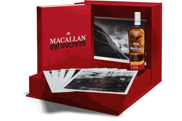 The Macallan unveils a Magnum limited edition whiskey, featuring Martin Parr