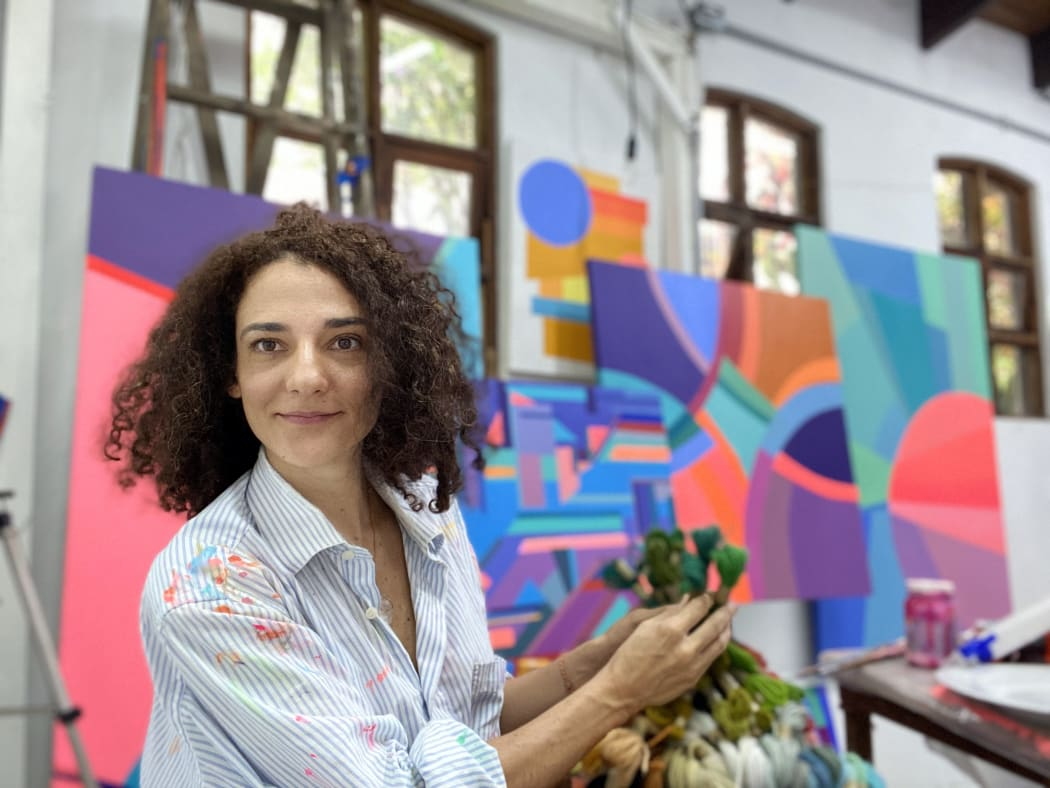 The Abstract Language of Carolina Guillermet