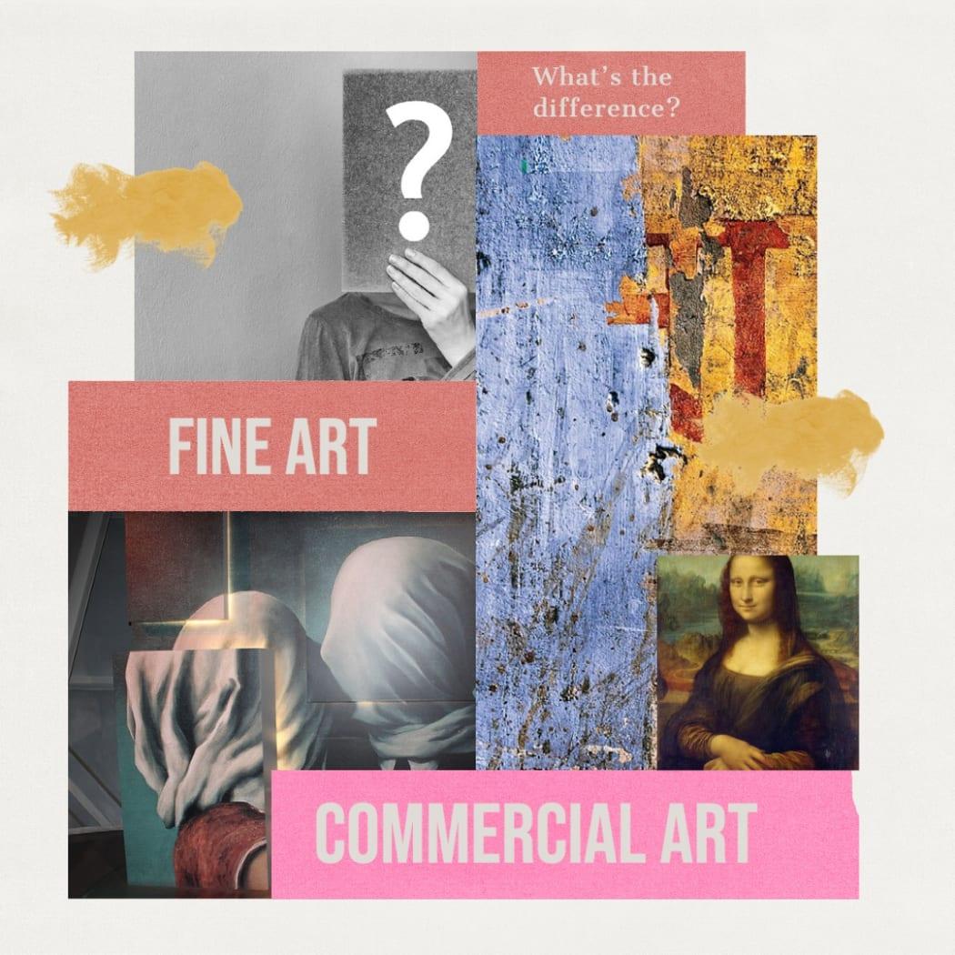 Fine Art vs Commercial Art