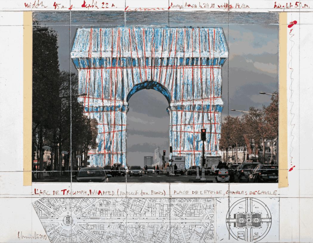 Photo: André Grossmann © 2019 Christo and Jeanne-Claude Foundation