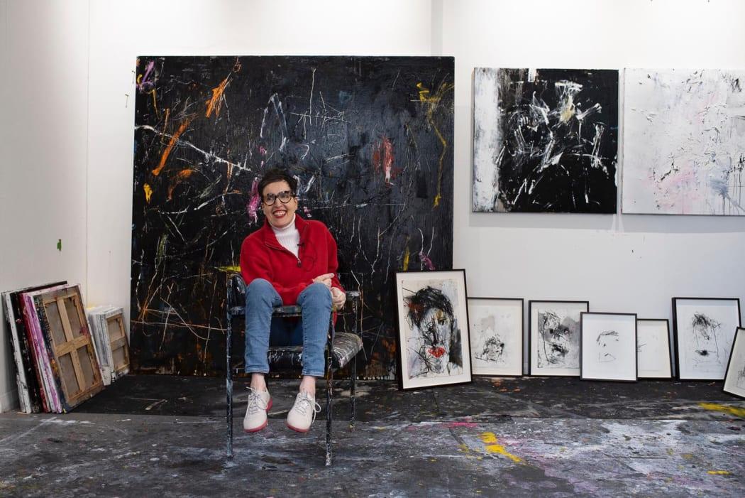 Artist Studio Interview - Frances Aviva Blane