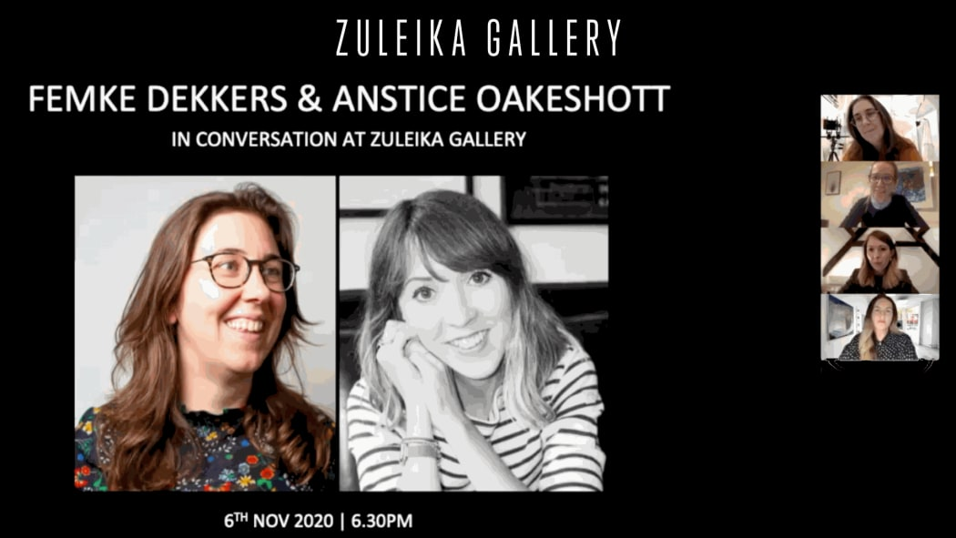 In Conversation - Femke Dekkers and Anstice Oakeshott