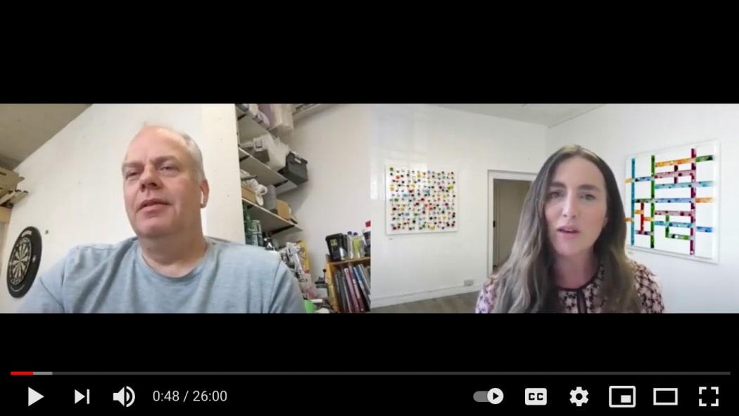 'Artist, Stuart Hartley in conversation with Hannah Payne, Zuleika Gallery, June 2021'