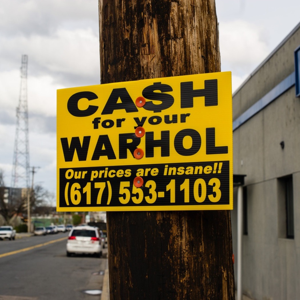 10 Years of Cash for your Warhol