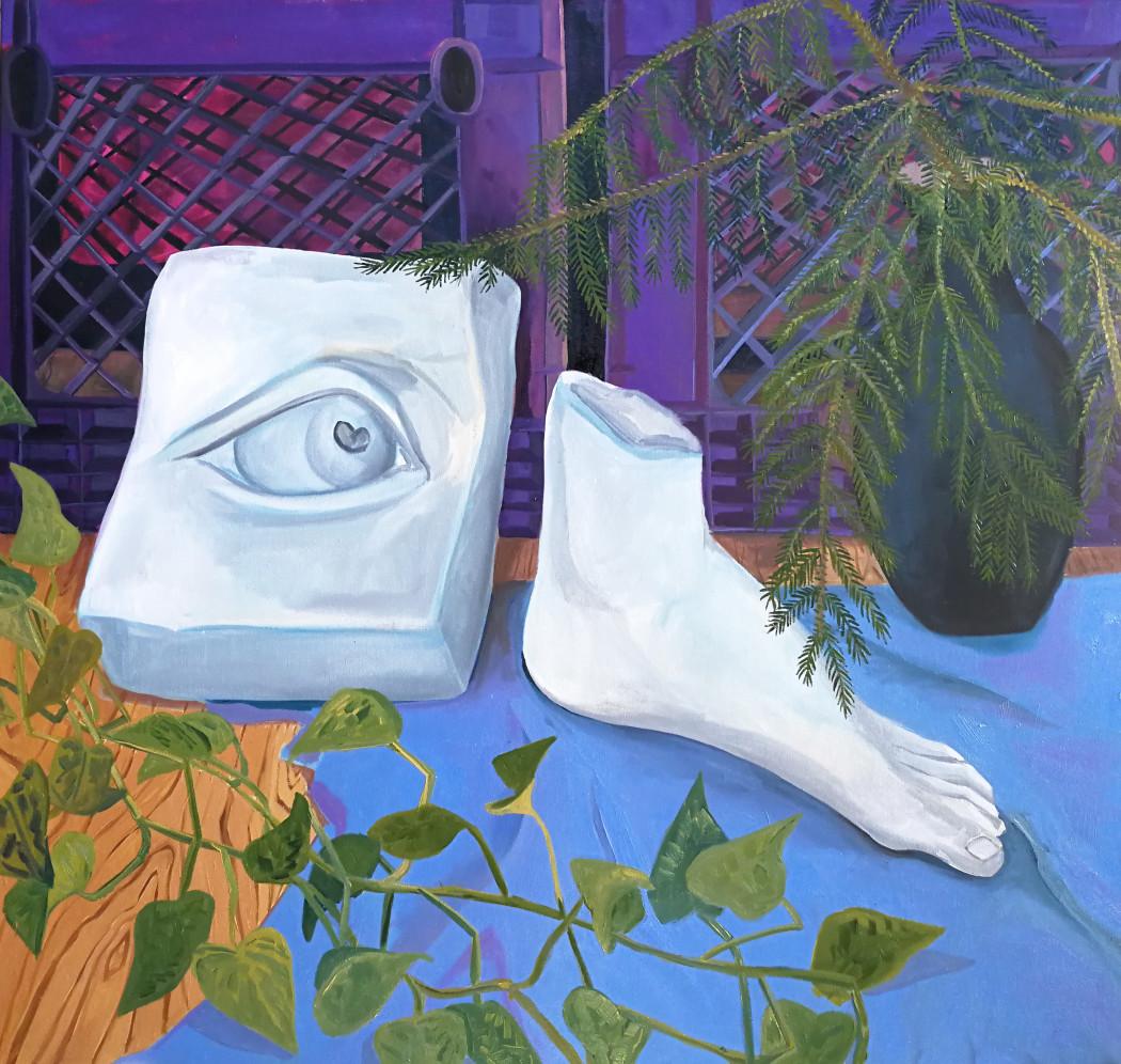 Anna Valdez, Foot & Eye, 2017