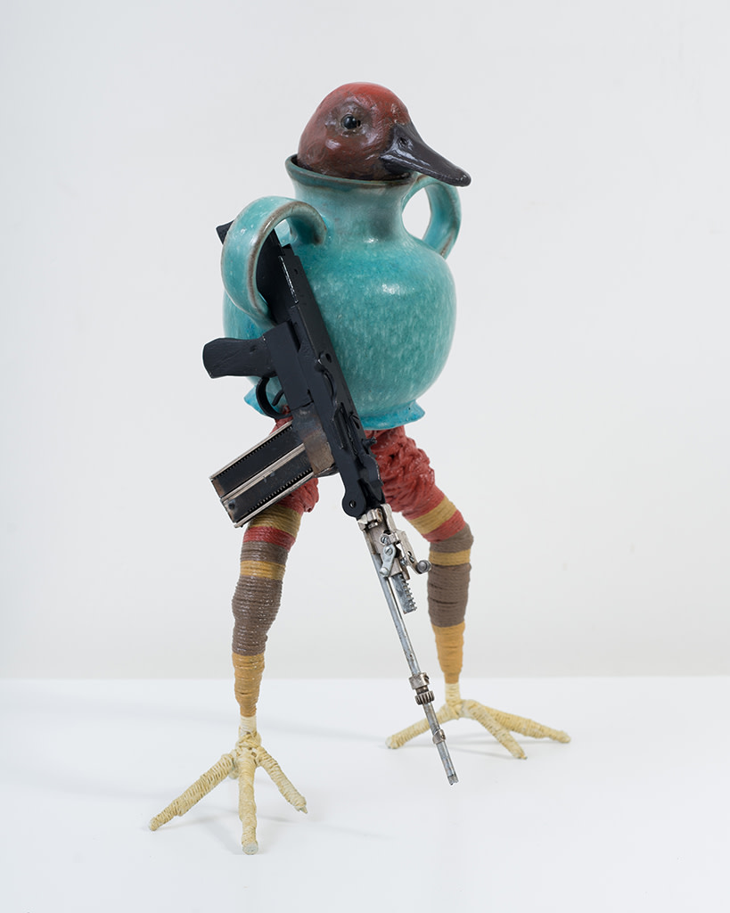 Ravi Zupa, New York Birdpot Creature 4, 2019