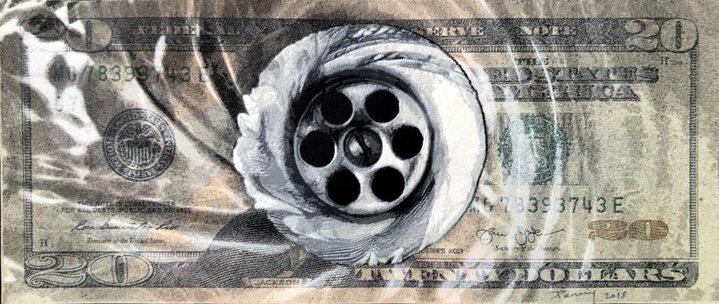 Penny, Drain - Twenty Dollar, 2019
