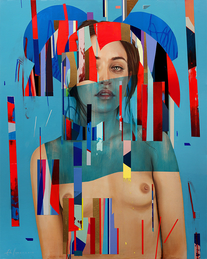 Erik Jones, Her Royal Cloth, 2014